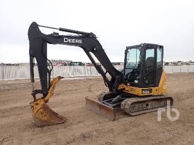 2017 JOHN DEERE 60G Mini Excavator (1 - 4.9 Tons)