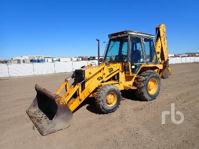 1989 JCB 1400B 4x4 Loader Backhoe