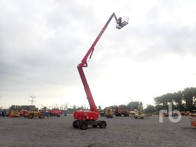 2010 GENIE Z-80/60 4x4x4 Articulated Boom Lift