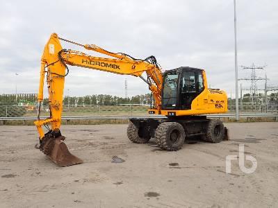 2014 HIDROMEK HMK150W Mobile Excavator