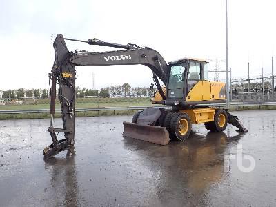 2000 VOLVO EW160 Mobile Excavator