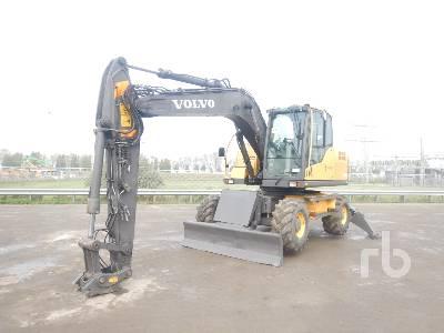 2009 VOLVO EW140C Mobile Excavator