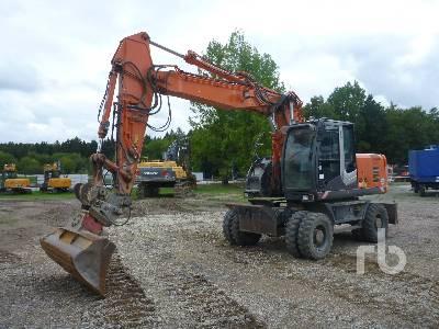 2011 HITACHI ZX190W-3 Mobile Excavator