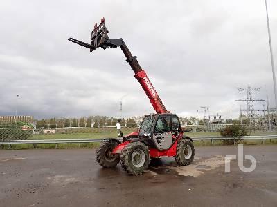 2018 MANITOU MT932 4x4x4 Telescopic Forklift