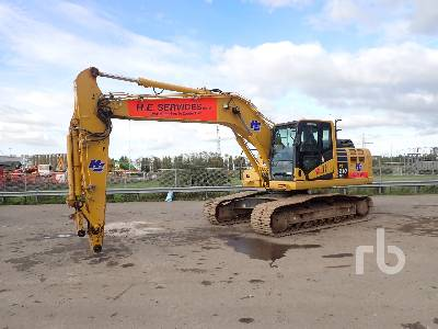 2017 KOMATSU PC210LC-10 Hydraulic Excavator