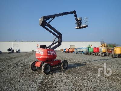 2012 MANITOU 160ATJ 4x4x4 Articulated Boom Lift