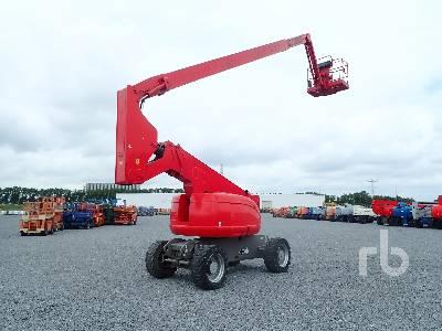 2006 JLG 800AJ 4x4 Articulated Boom Lift
