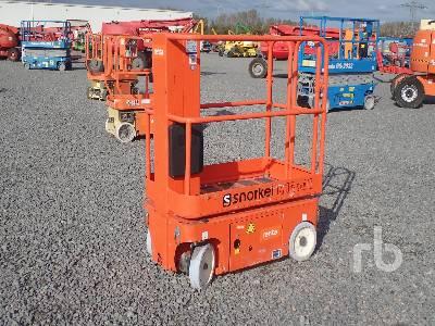 2014 SNORKEL M1230E Electric Vertical Manlift Boom Lift