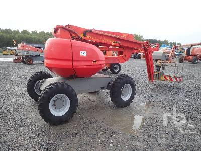 2006 MANITOU 160ATJ 4x4x4 Articulated Boom Lift