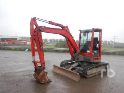 2014 YANMAR VIO50-U Mini Excavator (1 - 4.9 Tons)