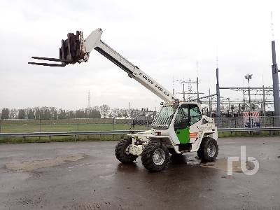 2004 MERLO P60.10K 4x4x4 Telescopic Forklift