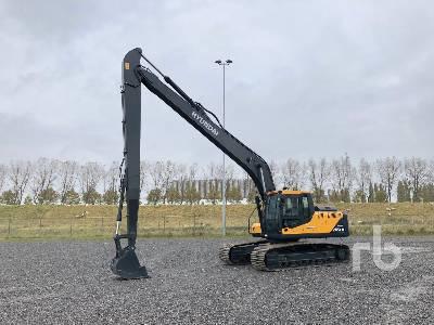 Unused 2021 HYUNDAI R245 Long Reach Hydraulic Excavator