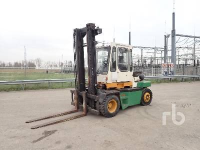 1984 KALMAR GB7-600 LPG Forklift