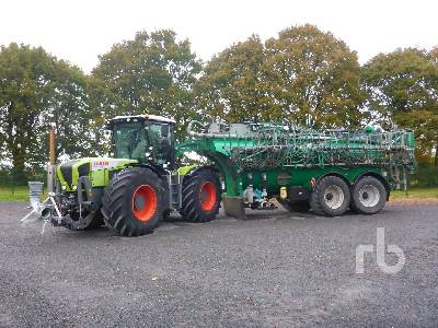 2010 CLAAS XERION 3300TRAC 4WD Tractor