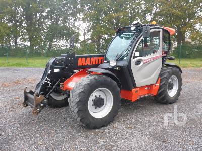 2017 MANITOU MLT737-130P Telescopic Forklift