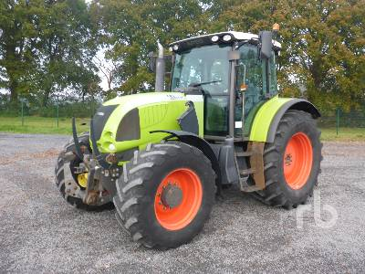 2006 CLAAS ARES 697 ATZ MFWD Tractor