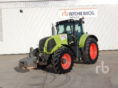 2009 CLAAS AXION 810 CIS MFWD Tractor