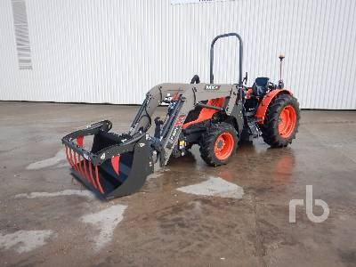 2020 KUBOTA M5091 NARROW 4WD Agricultural Tractor MFWD Tractor