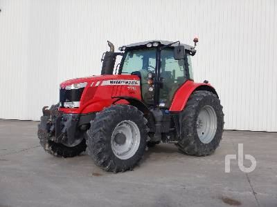 2015 MASSEY FERGUSON 7716 DYNA-6 EFF 4WD Agricultural Tractor MFWD Tractor