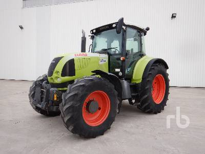 2010 CLAAS ARION 640 CIS 4WD Agricultural Tractor MFWD Tractor