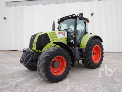 2008 CLAAS AXION 830 CEBIS 4WD Agricultural Tractor MFWD Tractor