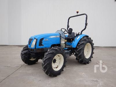 2009 LS MTRON U60 4WD Agricultural Tractor MFWD Tractor