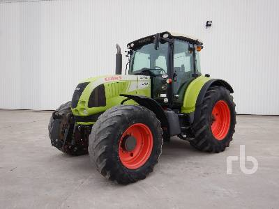 2008 CLAAS ARION 640 CEBIS 4WD Agricultural Tractor MFWD Tractor