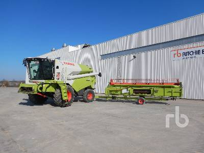 2014 CLAAS TUCANO 470 Moissonneuse Batteuse Small Grain Combine