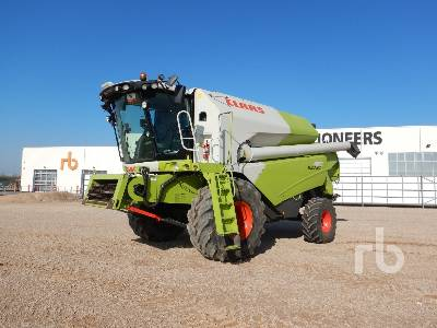 2013 CLAAS TUCANO 480 T3 Moissonneuse Batteuse Small Grain Combine