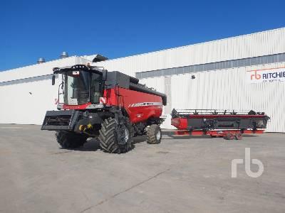 2015 MASSEY FERGUSON CENTORA 7380 AL Moissonneuse Batteuse Small Grain Combine