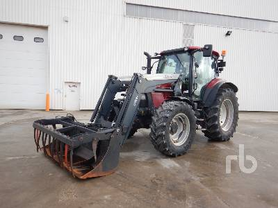 2014 CASE IH MAXXUM 110 CVX 4WD Agricultural Tractor MFWD Tractor