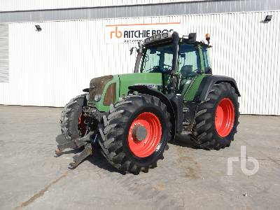 2007 FENDT 818TMS 4WD Agricultural Tractor MFWD Tractor