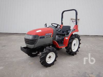 YANMAR AF16 4x4 Tracteur Utilitaire 4WD Utility Tractor