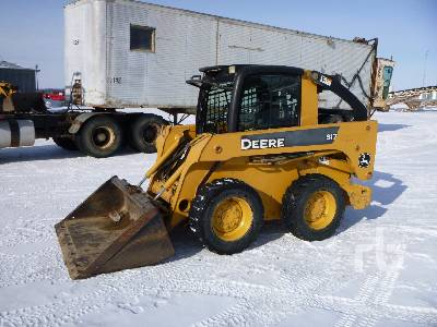 2007 JOHN DEERE 317 Skid Steer Loader