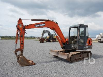 2010 DOOSAN DH55V Midi Excavator (5 - 9.9 Tons)