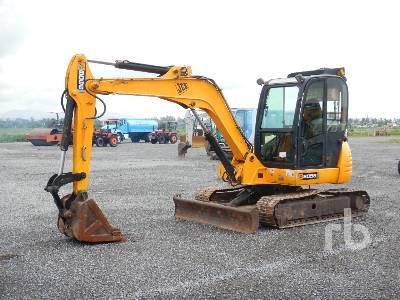 2015 JCB 8056 Mini Excavator (1 - 4.9 Tons)