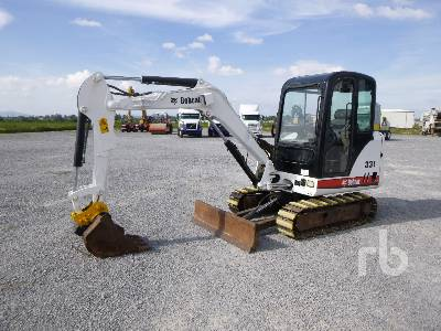 2014 BOBCAT 331D Mini Excavator (1 - 4.9 Tons)
