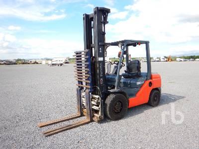 2009 TOYOTA 8FDU32 6600 Lb Forklift