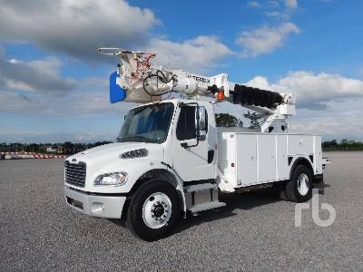 2018 FREIGHTLINER M2 4x2 w/Terex C4046 Digger Derrick Truck
