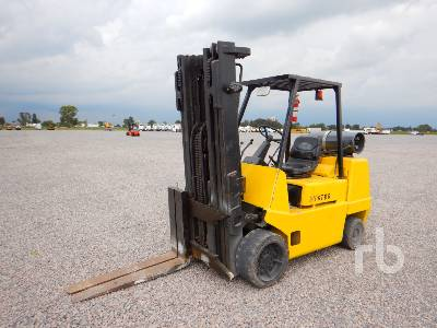 1996 HYSTER S80XL 8500 Lb Forklift
