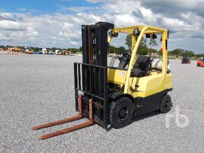 2015 HYSTER H50FT 5000 Lb Forklift