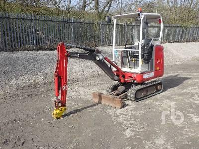2015 VOLVO EC18C Mini Excavator (1 - 4.9 Tons)