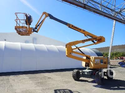 2014 HAULOTTE HA16 RTJ PRO Articulated Boom Lift