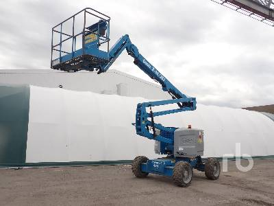 2014 GENIE Z45/25J 4x4 Articulated Boom Lift