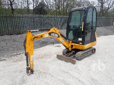 2013 JCB 8016CTS Mini Excavator (1 - 4.9 Tons)