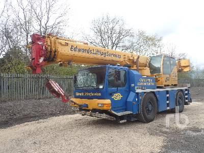 2009 LIEBHERR LTM1040-2.1 40 Ton 4x4x4 All Terrain Crane
