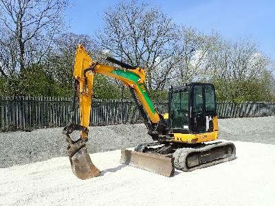 2014 JCB 85Z-1 Midi Excavator (5 - 9.9 Tons)