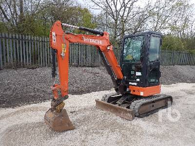 2018 HITACHI ZX26U-5A CR Mini Excavator (1 - 4.9 Tons)