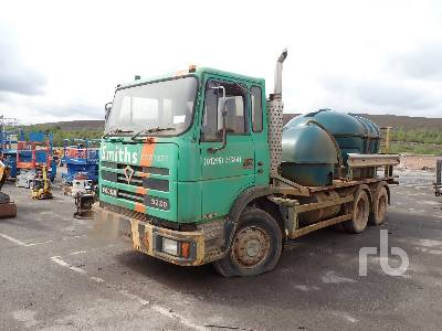 FODEN 3280 6x4 Tank Truck