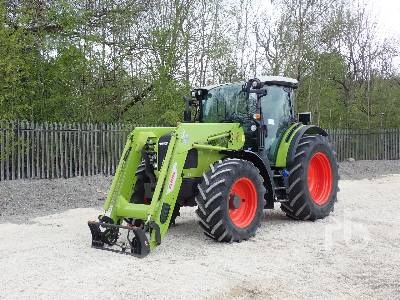 2018 CLAAS 450 ARION MFWD Tractor